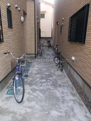 メゾン リヴィエールの駐輪スペース☆