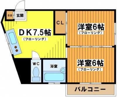 【外観】代田ニューハイツ