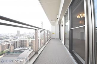 【バルコニー】ワコーレ神戸灘タワー