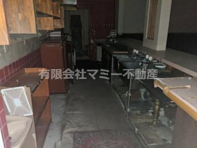 【キッチン】下海老町店舗S 1F
