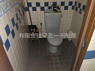 【トイレ】下海老町店舗S 1F