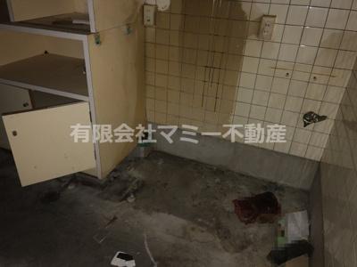 【キッチン】朝日町店舗N