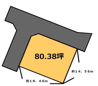 【土地図】羽刈 320万円