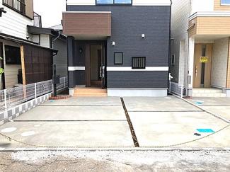 【駐車場】習志野市新栄 新築一戸建て 京成大久保駅