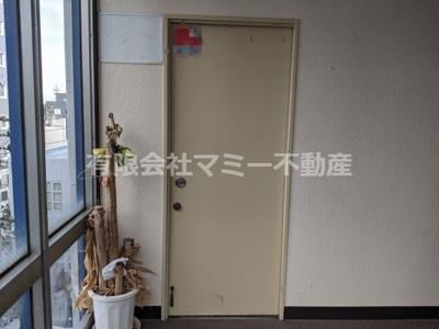 【玄関】諏訪栄町店舗H