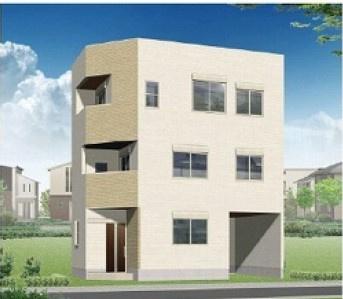 【外観パース】鳴尾町4丁目 B号地 新築戸建