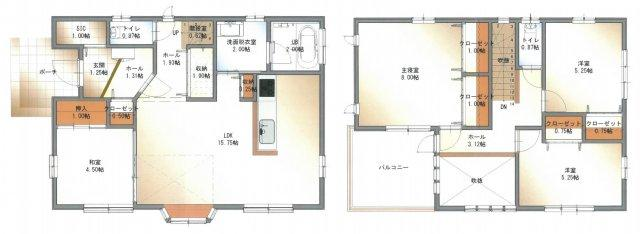 4LDK 土地273.26㎡ 建物109.65㎡