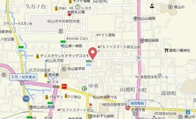 【地図】メゾン・ド・北Ⅰ