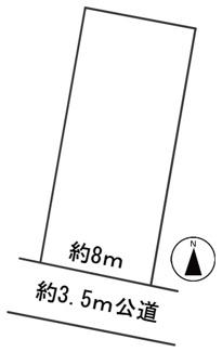 【区画図】56818 大垣市墨俣町上宿土地