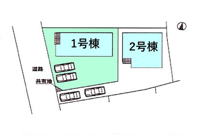 【区画図】新築 高崎市新町KF1-1