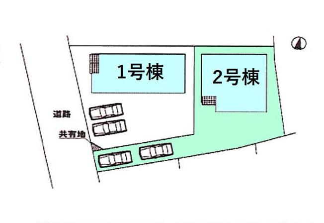 【区画図】現地写真掲載 新築 高崎市新町KF1-2