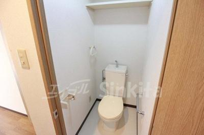 【トイレ】プルメリア東三国ウエスト