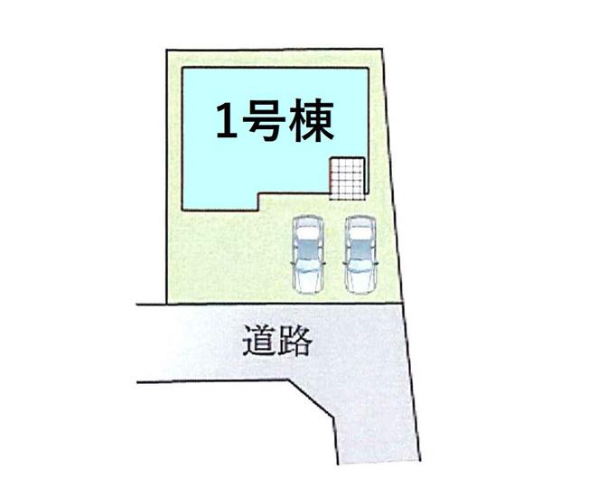 【区画図】現地写真掲載 新築 高崎市上小鳥町KⅡ4-1