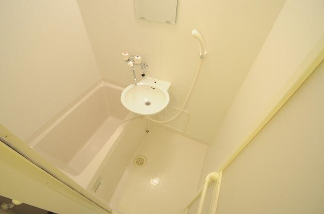 【浴室】レオパレスMARUKITAⅢ