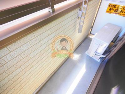 【バルコニー】フラット横浜大口