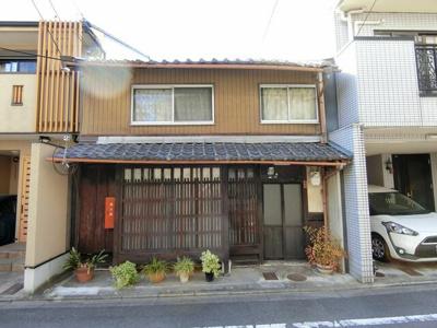 【外観】西ノ京池ノ内町 京町屋テナント