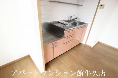 【キッチン】パルティール弐番館