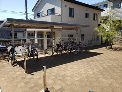 駐輪場あり☆神戸市垂水区 グランディール山手 賃貸☆