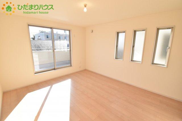 【寝室】鴻巣市松原 新築一戸建て リーブルガーデン 01