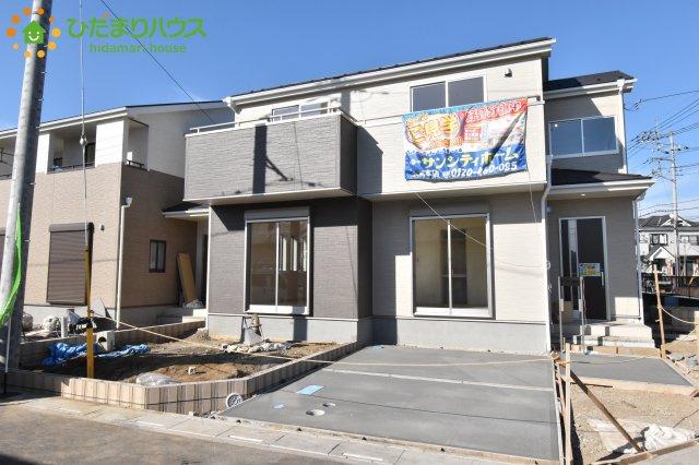 【外観】鴻巣市松原 新築一戸建て リーブルガーデン 01