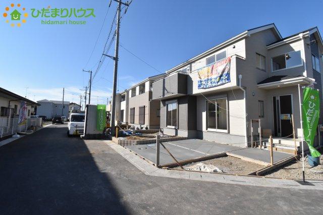 【駐車場】鴻巣市松原 新築一戸建て リーブルガーデン 01