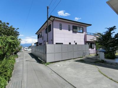 【前面道路含む現地写真】小笠原再生住宅