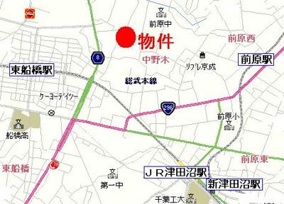 【地図】エースピア