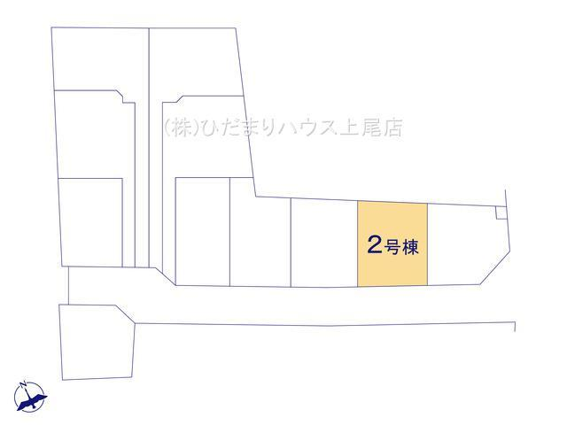 【区画図】鴻巣市松原 新築一戸建て リーブルガーデン 02