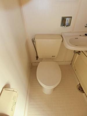 【トイレ】サニークレール2号棟