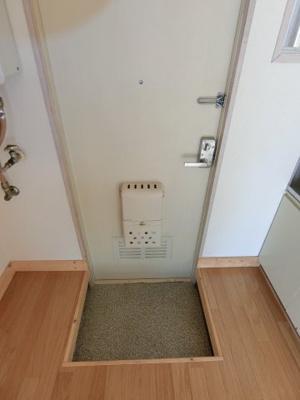 【玄関】サニークレール2号棟