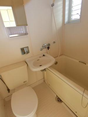 【浴室】サニークレール2号棟