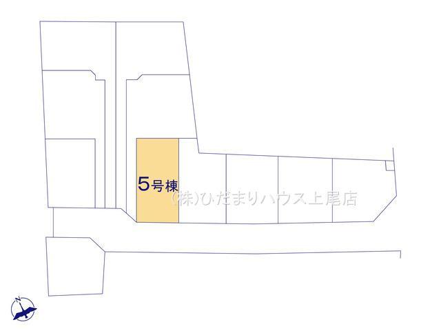 【区画図】鴻巣市松原 新築一戸建て リーブルガーデン 05