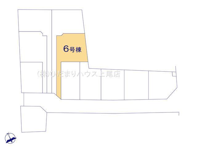【区画図】鴻巣市松原 新築一戸建て リーブルガーデン 06