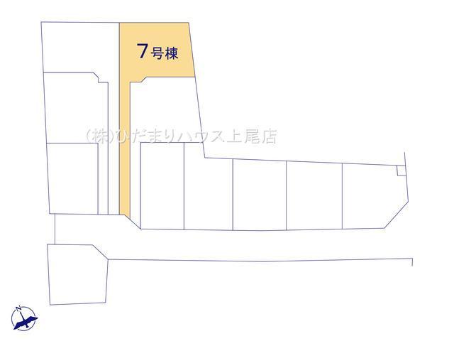 【区画図】鴻巣市松原 新築一戸建て リーブルガーデン 07