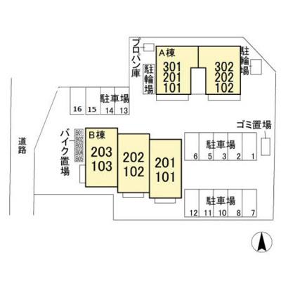 【区画図】セピアパレス A