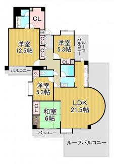 ユニヴェール花屋敷弐番館 5階
