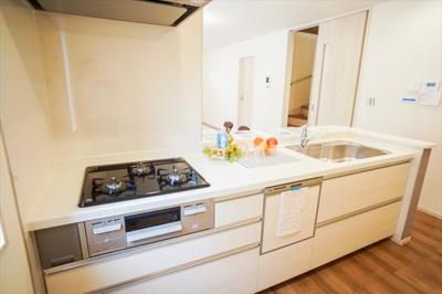 ビルトイン食洗器、ビルトイン浄水器完備。