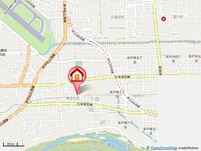 【地図】メゾン・アルモニーA