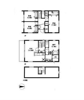 ■3LDK+納戸 建物面積:97.70㎡ 土地面積:114.82㎡ <吉川市大字平沼 中古戸建>
