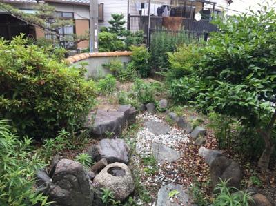 【庭】富士見台貸家