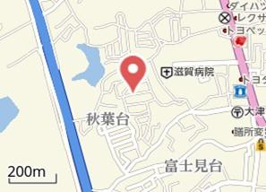 【地図】富士見台貸家