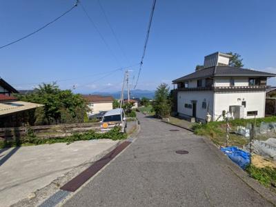【前面道路含む現地写真】大津市木戸