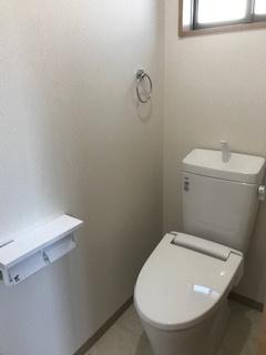 2Fトイレです。