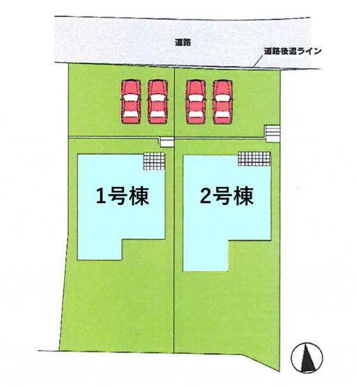【区画図】新築 高崎市大八木町KⅡ9-2