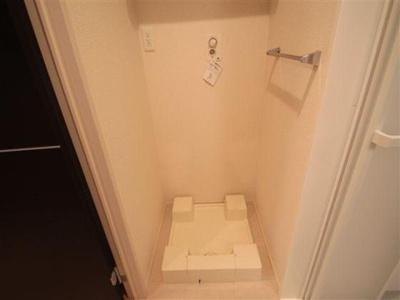 室内洗濯機置き場です!