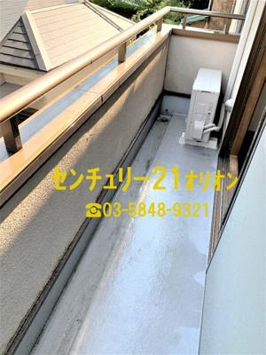 【バルコニー】URUMA HEIGHTS(ウルマハイツ)-2階