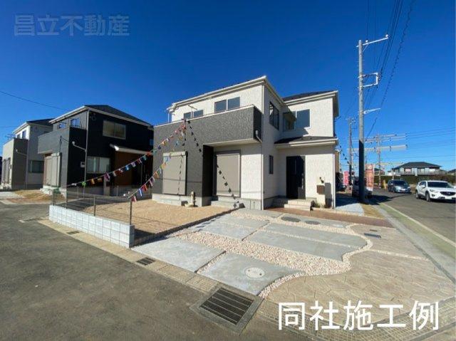同社同仕様施工例です。新京成線「高根木戸」駅徒歩19分の全9棟の新築一戸建てです。