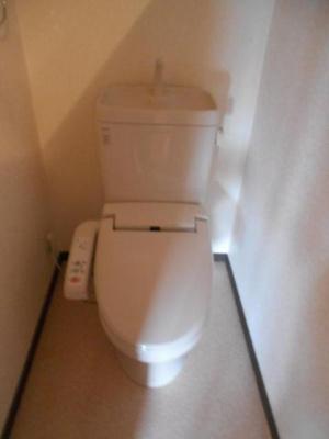 【トイレ】リバーサイドマンション