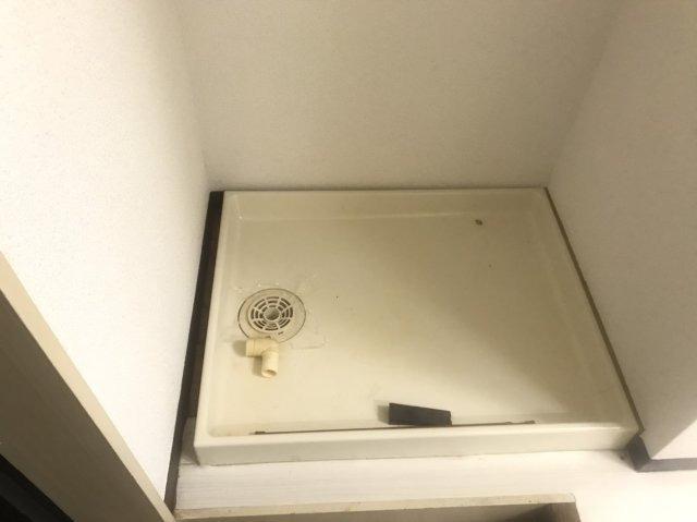 室内洗濯機置き場です