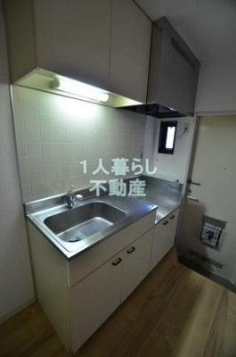 2口ガスコンロ設置可能なキッチンです